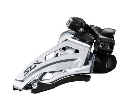 Shimano SLX – Forskifter FD-M7020 – 2 x 11 gear med Low clamp spændebånd – 28,6-34,9mm