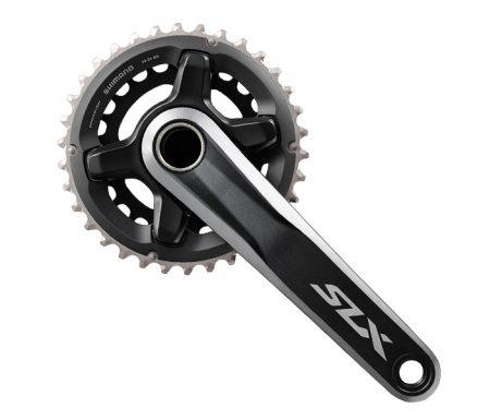 Shimano SLX – kranksæt FC-M7000 – Double 34/24 tands – 2×11 gear – 175 mm Pedalarme