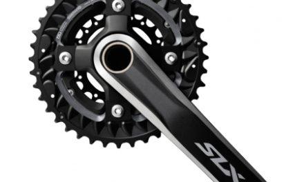Shimano SLX – Kranksæt FC-M7000 – Triple 40/30/22 tands – 3 x10 gear -175 mm Pedalarme