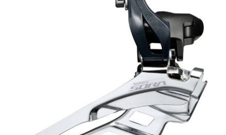Shimano Sora FD-R3030 – Forskifter 3 x 9 gear – til direkte montering