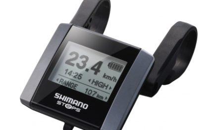 Shimano Steps – Cykelcomputer display og beslag – SC-E6000-D