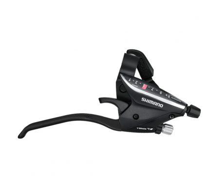 Shimano – STI grebsæt ST-EF65 – 3×9 Speed – MTB – Sort