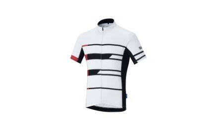 Shimano Team – Cykeltrøje med korte ærmer – Hvid
