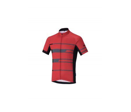 Shimano Team – Cykeltrøje med korte ærmer – Rød