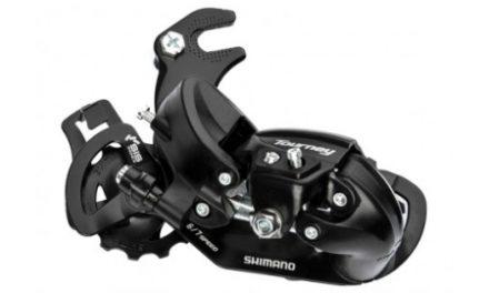 Shimano Tourney – Bagskifter RD-TY300 Sort – Til 6 eller 7 gear – Med klo til montering