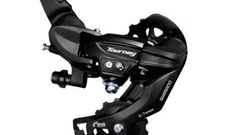 Shimano Tourney – Bagskifter RD-TY300 Sort – Til 6 eller 7 gear – Til direkte montering