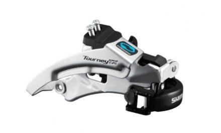 Shimano Tourney – Forskifter FD-TX800 – 3×7/8 gear Trekking Low clamp med bånd 28,6-34,9mm