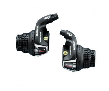 Shimano Tourney – Revo Grebsæt SL-RS35 – 3 x 6 gear med gearwire