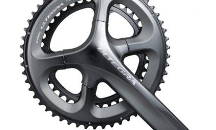 Shimano Ultegra kranksæt model FC6800 til 2 x 11 gear