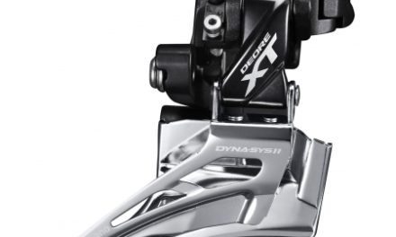 Shimano XT – Forskifter FD-M8025 – 2 x 11 gear med High clamp spændebånd – 28,6-34,9mm
