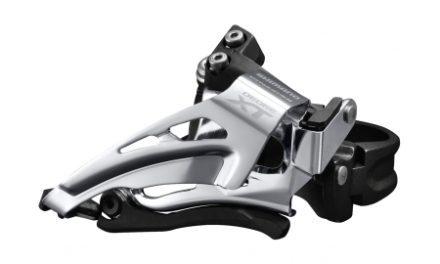 Shimano XT – Forskifter FD-M8025 – 2 x 11 gear med Low clamp spændebånd – 28,6-34,9mm