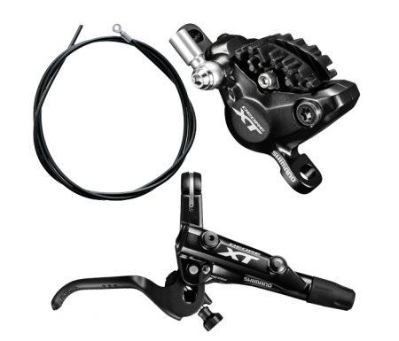 Shimano XT M8000 – Hydraulisk bremsesæt – Bag/højre – Resin