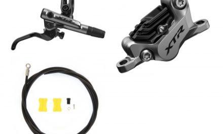 Shimano XTR Trail M9120-XNA – Hydraulisk bremsesæt – Bag/Højre – Metal klodser