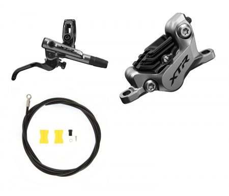 Shimano XTR Trail M9120-XSA – Hydraulisk bremsesæt – Bag/Højre – Resin klodser