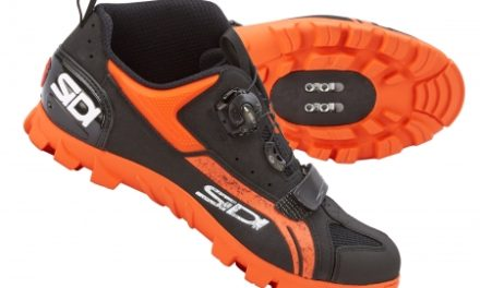 Sidi Defender – MTB/enduro cykelsko – Sort/orange