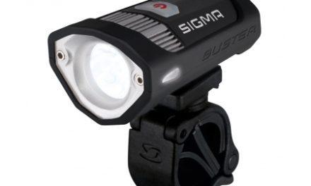 Sigma Buster 200 – Power forlygte – 200 Lumen – Genopladelig