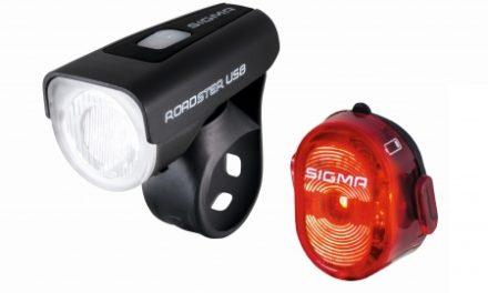 Sigma – Roadster lygtesæt – USB genopladelig