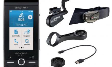 Sigma ROX 12.0 Sport Bundle – Cykelcomputer med GPS – Grå