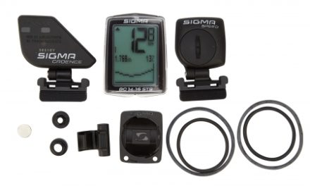 Sigma Sport BC 14.16 STS – Trådløs cykelcomputer med højdemåler og kadence – 24 funktioner