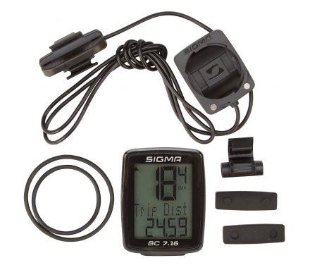 Sigma Sport – BC 7.16 – Cykelcomputer med ledning