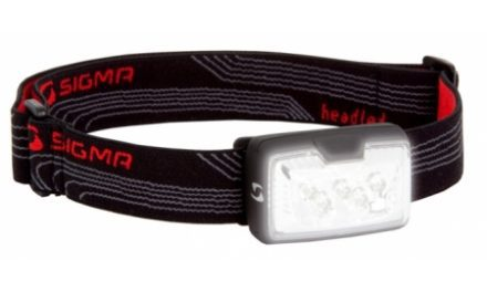 Sigma Sport Headled – Pandelampe med 5 dioder – 3 Lux – 2 funktioner