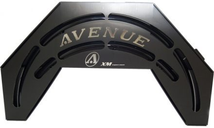 Skærmsæt Avenue 700C 35 mm Sort