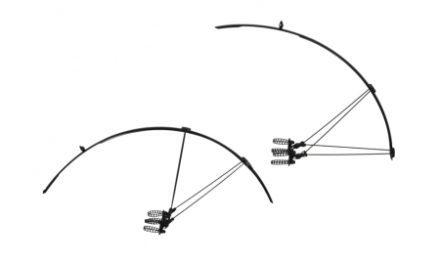 Skærmsæt Zefal Shield R30 sort til racer cykel