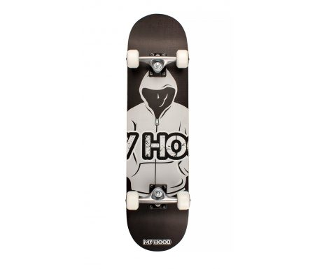 Skateboard My Hood ABEC9 – Hood Sort/Grå