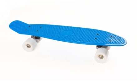 Skateboard My Hood Cruiser Board Blå