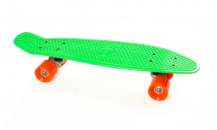 Skateboard My Hood Cruiser – Lime/Orange