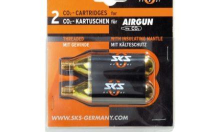 SKS Co2 Patron 16 gram Air Gun med gevind 2 stk. i sæt.