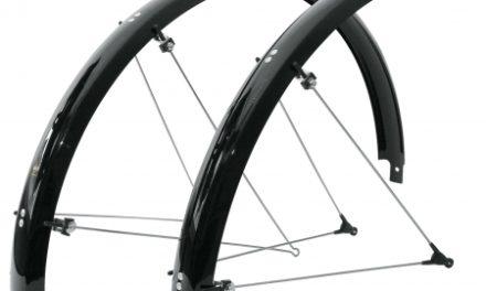 SKS Skærmsæt Bluemels 700c x 35 mm – sort – Olympic Racer – inkl. stivere