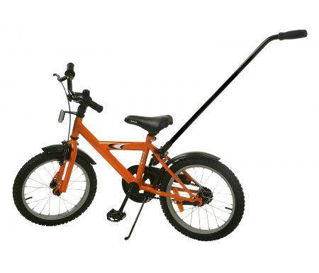 Skubbestang til børnecykel