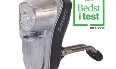 Smart cykellygte – 0,5 Watt LED – til AA batterier