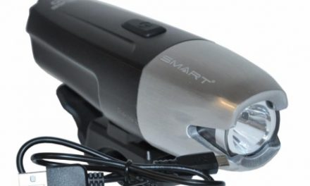 Smart Suburb 800 – Forlygte USB – 800 Lumen – m/holder