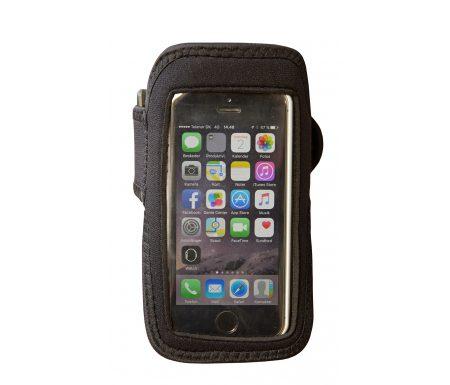 Smartphone Løbearmbånd – 13,5 x 8 cm – Sort