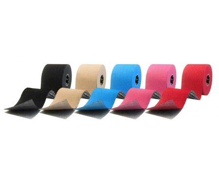 Sporttape Extra Sticky – Flex Kinesiologitape – 5cm x 5m – Flere farver