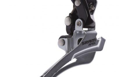 Sram Apex forskifter –  2 x 10 gear til pålodning – Sort
