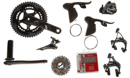 Sram Force 22 geargruppe – BB30 – 2×11 gear mekanisk