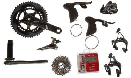 Sram Force 22 geargruppe – BB30 – 2×11 gear mekanisk