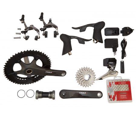 Sram Red eTAP – Komplet geargruppe – 22 elektroniske gear – GXP