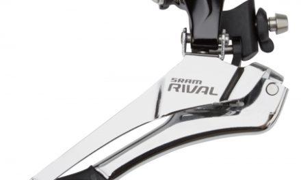 Sram Rival 22 forskifter – 2 x 11 – Inkl. chain spotter – Braze-on