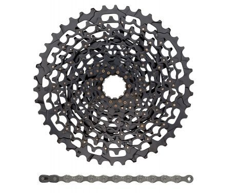 Sram sampak – 11 gear – XG-1150 10-42T kassette – PC-1110