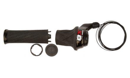Sram X.0 – Grip Shift – 2 Gear – Sort/rød