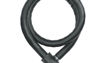 Steel-O-Flex Abus 860 Centuro sort 85 cm