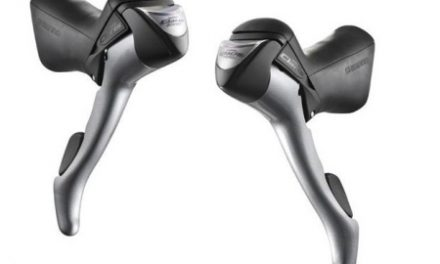 STI grebsæt Shimano Claris 2 x 8 gear med kabler og kabelstop