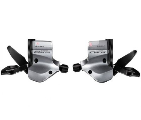 STI skiftegrebsæt Shimano Claris 2 x 8 gear til flatbar