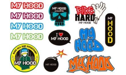 Stickers My Hood ark med forskellige motiver