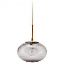 Stor grå Opal lampe fra House Doctor fra House Doctor