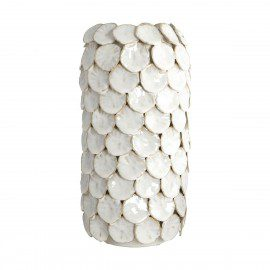Stor House Doctor Vase – Dot – Hvid fra House Doctor